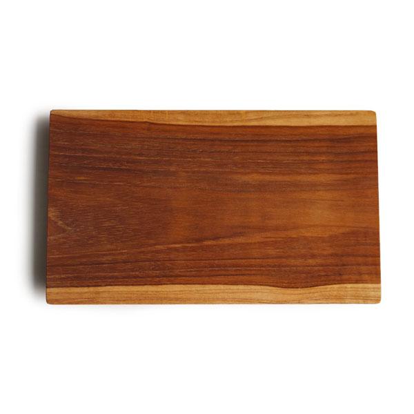 画像1: 【J Furniture Co.,Ltd】プレート スクエア M 25cm/カップホルダー無し/四角/丸/トレー/プレート/トレイ/チーク材/木製/ウッド/天然木/インスタ/ジェイファニチャー (1)