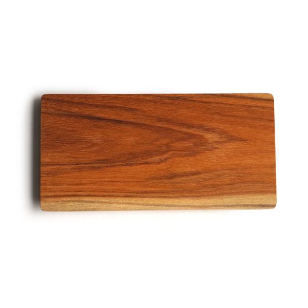 画像1: 【J Furniture Co.,Ltd】プレート スクエア S 20cm/カップホルダー無し/四角/丸/トレー/プレート/トレイ/チーク材/木製/ウッド/天然木/インスタ/ジェイファニチャー (1)