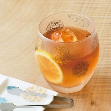 画像1: 【THE Premium NIPPON Taste】プレミアム 丸紋 オールドペアセット /グラス2個販売/ガラス/日本酒グラス/ガラス食器/ギフト/プレゼント/記念日/お祝い/石塚硝子 (1)