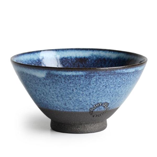 画像1: 【SALIU】飯碗 SA01 大 青 お茶碗 ごはん碗 夫婦茶碗 陶器/日本製 (1)