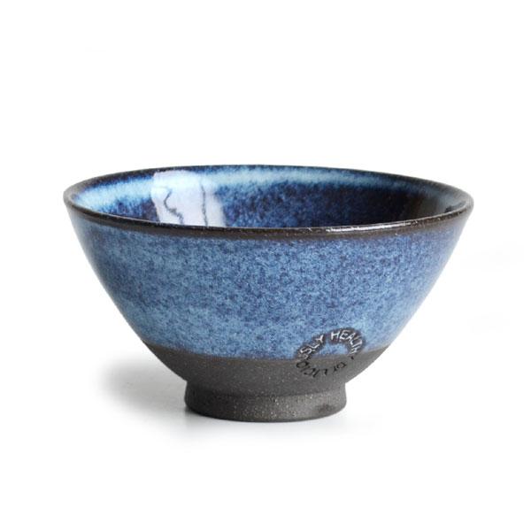 画像1: 【SALIU】飯碗 SA01 小 青 お茶碗 ごはん碗 夫婦茶碗 陶器/日本製 (1)