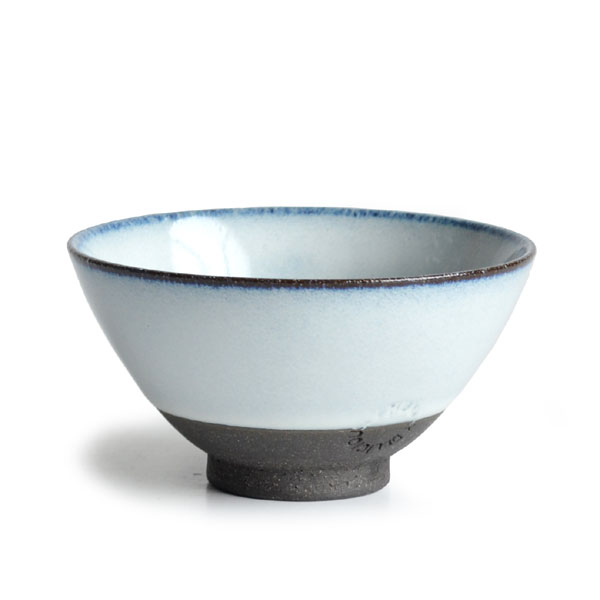 画像1: 【SALIU】飯碗 SA01 小 白 お茶碗 ごはん碗 夫婦茶碗 陶器/日本製 (1)