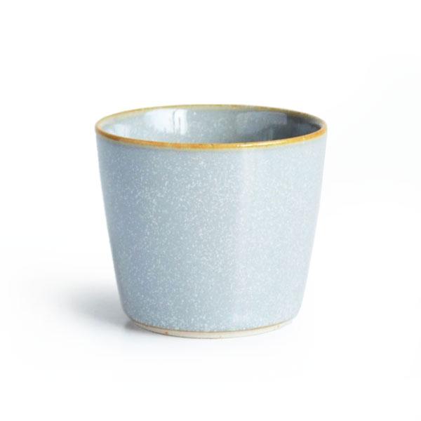 画像1: 【SALIU 】祥-SYO- 湯呑み 灰 グレイ グレー ゆのみ カップ コップ 陶器 功山窯 美濃焼 日本製 LOLO ロロ (1)