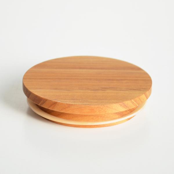 画像1: 【部品販売】木蓋 キャニスター専用木蓋 チーク 単品販売 (1)