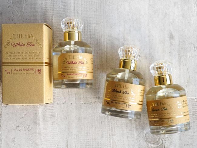 画像1: 【THE the】ザ・ティー オードトワレ 50ml 香水 フレグランス THE the フランス製 サンタール・エ・ボーテ (1)
