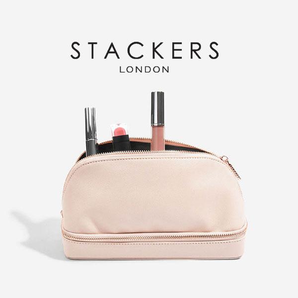 画像1: 【STACKERS】メイクポーチ ピンク/メイクアップバック/ブラッシュピンク/Taupe/化粧ポーチ/イギリスデザイン/ロンドン/Make UP Bag (1)