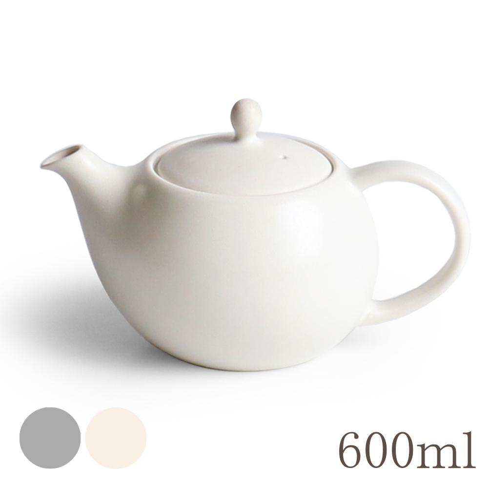 画像1: 【SALIU】結 YUI ティーポット 600ml 急須 ティーカップ 湯飲み ソーサー 茶托 陶器  磁器 白磁 丸い かわいい 可愛い 美濃焼 急須 日本製  LOLO ロロ  おしゃれ かわいい きゅうす 茶こし 人気 おすすめ デザイン 紅茶のための茶器 (1)