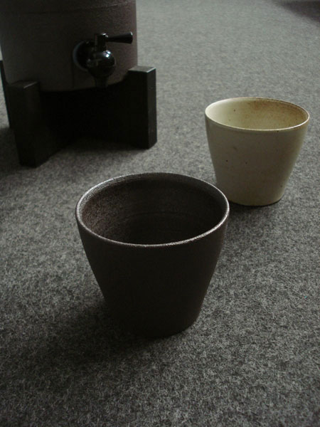 画像1: 【SALIU】 焼酎カップ 陶器 コップ 湯呑み 日本製 (1)