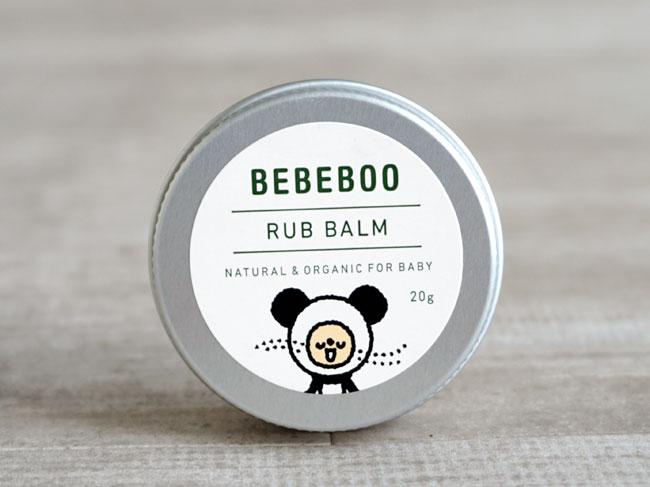 画像1: 【BEBEBOO】ベベブーRUB BALM 20g/BBバーム 20g/ベベブー/北海道産ラベンダー/乾燥/肌にうるおい (1)