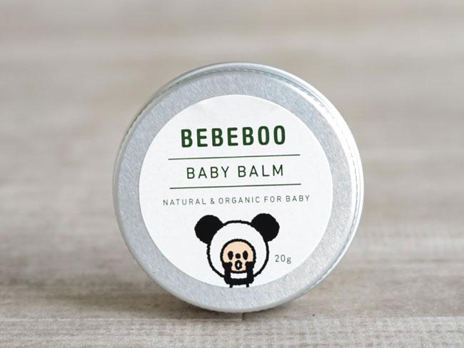画像1: 【BEBEBOO】ベベブーBABY BALM 20g/ベビーバーム 20g/ベベブー/北海道産ラベンダー/乾燥/肌にうるおい (1)