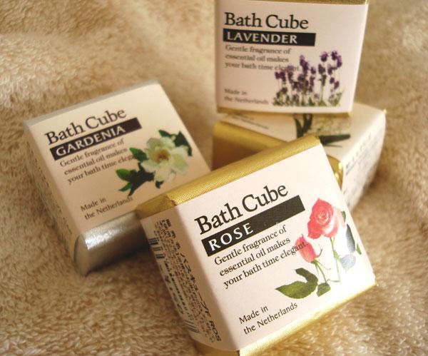 画像1: 【Bath】フレグランス バスキューブ (1)