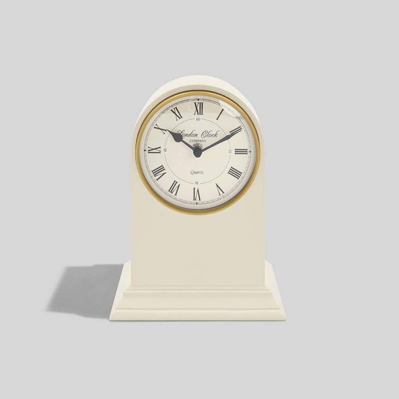 画像1: 【LONDON CLOCK】THOMAS ロンドンクロック トーマス クリーム イギリス ロンドン おしゃれ 置き時計 英国 (1)