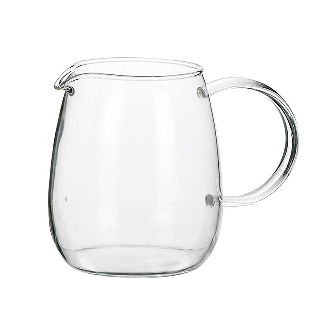 画像1: ティーポット  丸 600ml コーヒーサーバー  耐熱ガラス 耐熱 珈琲 (1)
