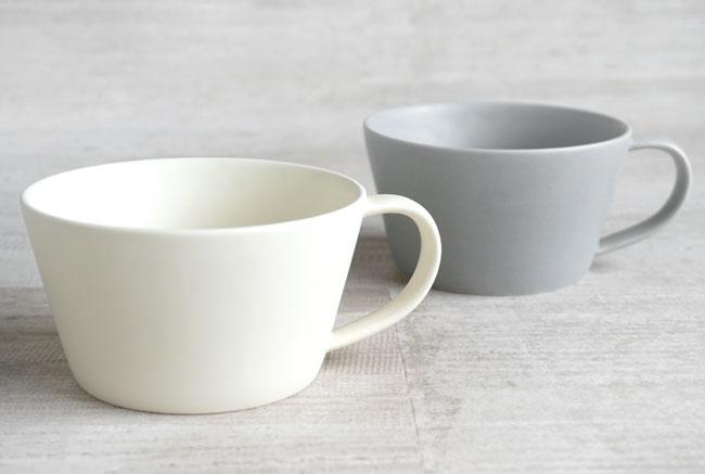 画像1:  【作山窯-SAKUZAN-】SAKUZAN DAYS Sara スープマグ/カフェマグ/コーヒーカップ/スープカップ/サラ/カフェ/磁器/日本製/陶器 (1)