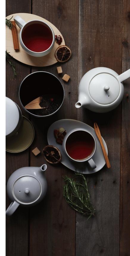 結 YUI紅茶のための茶器。楽しいティータイムを演出します。