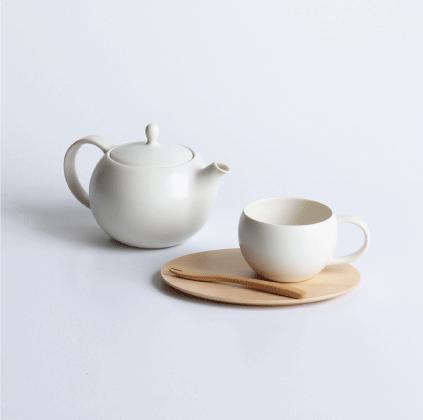 SALIU 結 ころんと可愛らしいフォルム おしゃれな紅茶用カップ